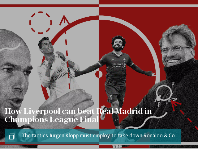 How Liverpool can beat Real Madrid in Champions League Final