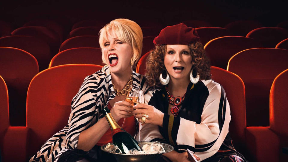 'Absolutely Fabulous: The Movie'. (Credit: 20th Century Fox)