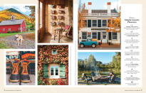 <p>Featuring assorted scenics and snapshots from the countryside, this new opening spread of the magazine is a nice little seasonal mood-setter, don't you think? </p>