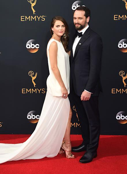 Keri Russell told Us Weekly at the Governors Ball 2016 afterparty on September 18 that the Emmys are basically 'adult prom' — get the details!