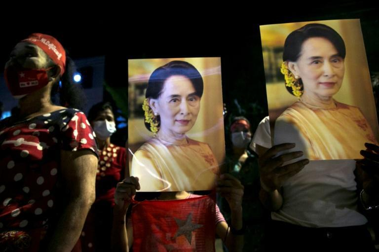 The constitution was written by the military junta before they left power, and is very controversial -- Suu Kyi's government has been trying to amend it