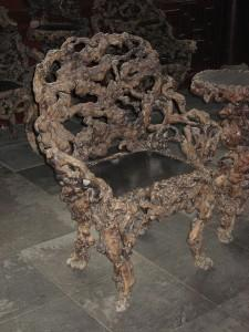 Creepy, bony chair