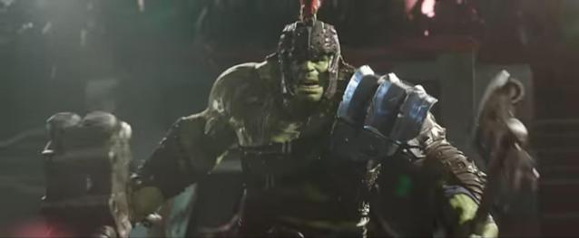 The Hulk gets ready to smash in <em>Thor: Ragnarok</em>. (Photo: Marvel Studios)