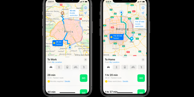 Apple debuted new features for its Maps app at WWDC on June 22nd. (Apple)