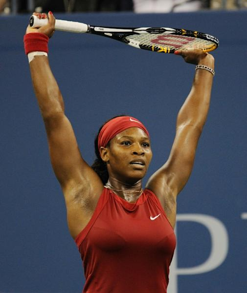 2008: Serena Williams beats Jelena Jankovic in the final