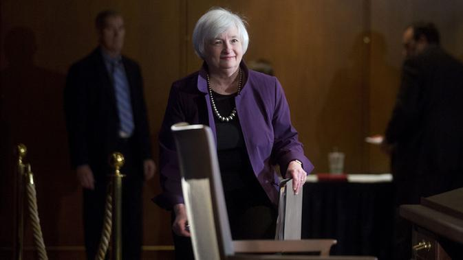 Pimpinan Bank Sentral Amerika Serikat (The Fed) Janet Yellen (Foto: Bloomberg)
