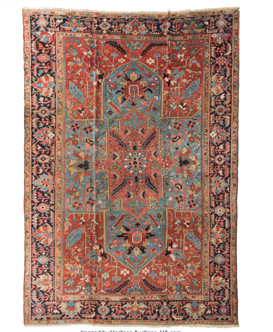 <p>Handwoven Persian rugs appreciate a lot over the years—although it takes a <em>long</em> time for that to happen. That rug your great-grandparent purchased may just be worth something now. Rugs that are more than 100 years old are considered antiques and their price is determined by size, material, knot-density, condition, and design.</p><p><strong>What it's worth: </strong>$1,000 to $1 million</p>