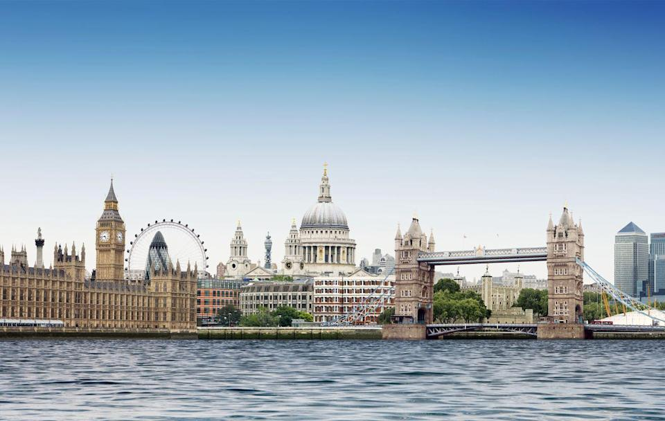 """<p>We couldn't recommend the UK's best city breaks with kids without mentioning London. Whether for their first trip or a returning visit, the cosmopolitan capital is abuzz with family-friendly activities. </p><p>Delve into its historic past with a trip to the <a href=""""https://www.hrp.org.uk/tower-of-london/#gs.lt44ft"""" rel=""""nofollow noopener"""" target=""""_blank"""" data-ylk=""""slk:Tower of London"""" class=""""link rapid-noclick-resp"""">Tower of London</a> and see the Crown Jewels. Enjoy <a href=""""https://www.madametussauds.com/london/"""" rel=""""nofollow noopener"""" target=""""_blank"""" data-ylk=""""slk:Madame Tussauds"""" class=""""link rapid-noclick-resp"""">Madame Tussauds</a> and its array of celebrity waxworks. <a href=""""https://go.redirectingat.com?id=127X1599956&url=https%3A%2F%2Fwww.thedungeons.com%2Flondon%2F&sref=https%3A%2F%2Fwww.prima.co.uk%2Ftravel%2Fg34772208%2Fcity-breaks-with-kids%2F"""" rel=""""nofollow noopener"""" target=""""_blank"""" data-ylk=""""slk:The London Dungeons"""" class=""""link rapid-noclick-resp"""">The London Dungeons</a>, meanwhile, offers a thrilling and scary look into a macabre past. While you're at the South Bank, take the kids on the <a href=""""https://www.visitlondon.com/things-to-do/place/282783-london-eye"""" rel=""""nofollow noopener"""" target=""""_blank"""" data-ylk=""""slk:London Eye"""" class=""""link rapid-noclick-resp"""">London Eye</a>, Europe's tallest observation wheel. </p><p>Kids will also adore the <a href=""""https://www.nhm.ac.uk/"""" rel=""""nofollow noopener"""" target=""""_blank"""" data-ylk=""""slk:Natural History Museum"""" class=""""link rapid-noclick-resp"""">Natural History Museum</a>, where you can meet a life-sized blue whale, and the <a href=""""https://www.sciencemuseum.org.uk/home"""" rel=""""nofollow noopener"""" target=""""_blank"""" data-ylk=""""slk:Science Museum"""" class=""""link rapid-noclick-resp"""">Science Museum</a>, where you can trace the history of the Space rocket. And, for a truly magical day out, head out of the city centre and into the <a href=""""https://www.wbstudiotour.co.uk/"""" rel=""""nofollow noopener"""" target=""""_blank"""" data-ylk=""""slk:War"""