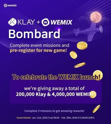 WEMIX Launching Promotion