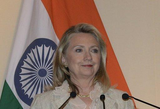 Hillary Clinton made the comments on the final day of three-nation Asian tour