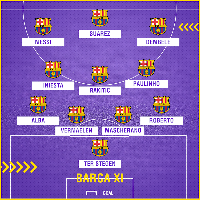 Barcelona Vs Liverpool Who Makes The Combined Xi Ahead Of: Barcelona Team News: Dembele Makes First Start Since September