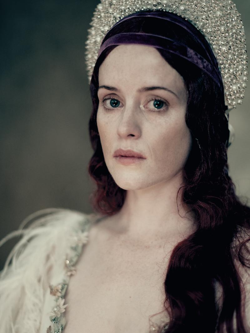 Claire Foy in the 2020 Pirelli calendar. [Photo: 2020 Pirelli Calendar by Paolo Roversi]