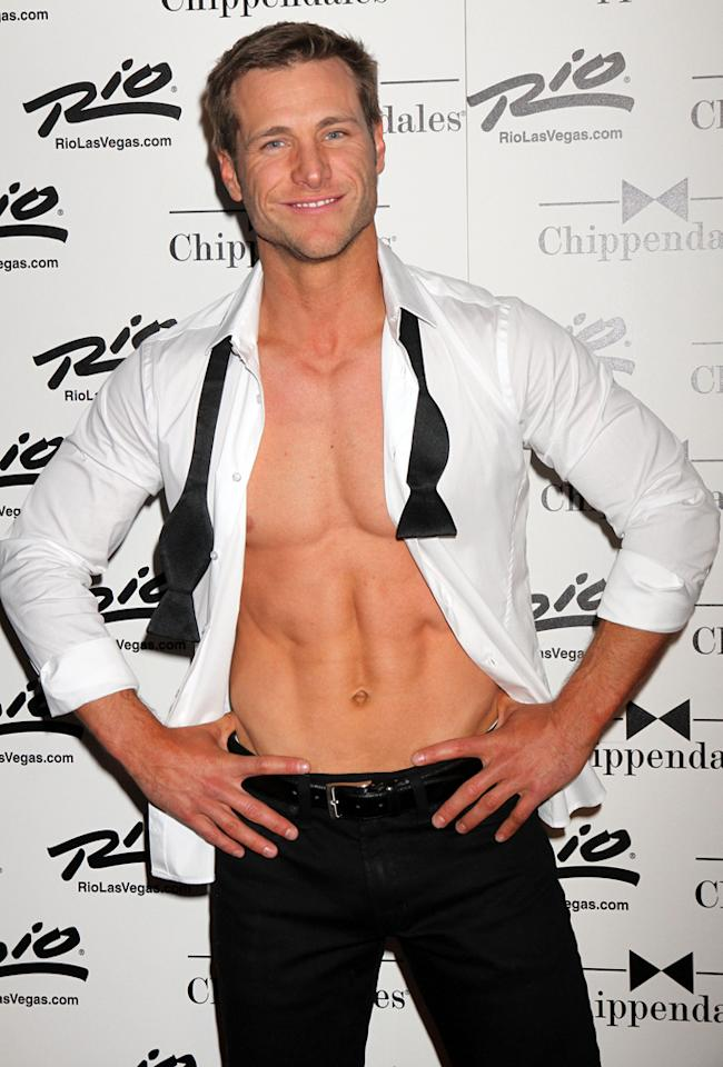 "Jake Pavelka, Guest Host of Chippendales Las Vegas<br><br>  When Jake Pavelka arrived on the set of ""<a href=""http://tv.yahoo.com/bachelorette/show/34988/"">The Bachelorette</a>"" Season 5, he had already worked as an actor under the stage name Jake Landrum. So it wasn't surprising that he's worked his way from ""The Bachelorette"" to ""<a href=""http://tv.yahoo.com/bachelor/show/3018"">The Bachelor</a>"" Season 14, and then on to ""<a href=""http://tv.yahoo.com/dancing-with-the-stars/show/38356"">Dancing With the Stars</a>"" Season 10, ""<a href=""http://tv.yahoo.com/famous-food/show/47448"">Famous Food</a>,"" ""<a href=""http://tv.yahoo.com/bold-and-the-beautiful/show/29204"">The Bold and the Beautiful</a>,"" ""<a href=""http://tv.yahoo.com/drop-dead-diva/show/44245"">Drop Dead Diva</a>,"" ""<a href=""http://tv.yahoo.com/bachelor-pad/show/45815"">Bachelor Pad</a>"" Season 2, and -- his latest gig -- guest host of the Chippendales in Las Vegas. Jake has a rockin' bod, and he knows it. He may not strip down with the other gents, but hosting a Chippendales show will put some show-hosting experience on the ol' resumé. Look out, Chris Harrison."