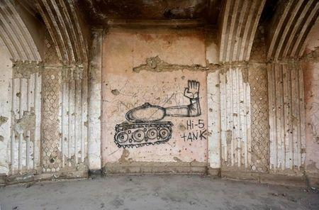 The Wider Image: In the ruins of Kabul's Darul Aman palace