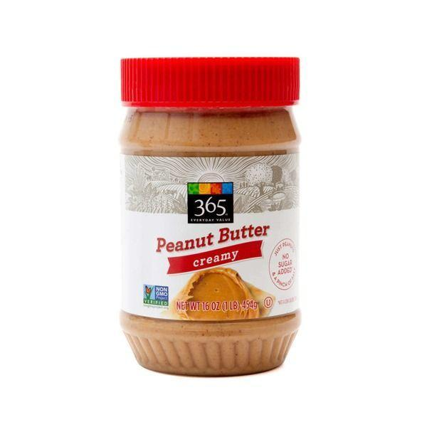 """<p><a class=""""link rapid-noclick-resp"""" href=""""https://www.amazon.com/365-Everyday-Value-Peanut-Butter/dp/B074H57SPT/ref=sr_1_3?almBrandId=VUZHIFdob2xlIEZvb2Rz&ascsubtag=%5Bartid%7C10049.g.36302562%5Bsrc%7Cyahoo-us&dchild=1&fpw=alm&keywords=peanut+butter&qid=1594407768&s=wholefoods&sr=1-3&tag=syn-yahoo-20"""" rel=""""nofollow noopener"""" target=""""_blank"""" data-ylk=""""slk:BUY NOW"""">BUY NOW</a></p><p>Again, there are about a million peanut butter brands at Whole Foods, but their 365 Everyday Products peanut butter is (1) healthy, and (2) tastes luxuriously good. Justin's gets an honorable mention, though. Hi @Justin, ilu.</p>"""