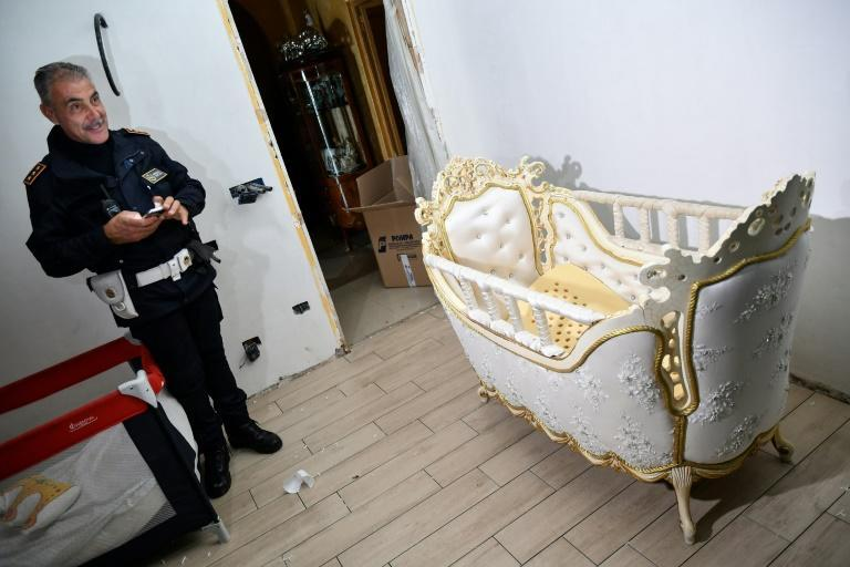 The Casamonica mafia is a tightly knit crime family with its roots in the Sinti Roma community (AFP/Alberto PIZZOLI)