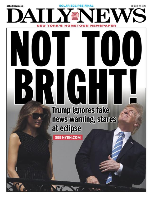 new york daily news cover