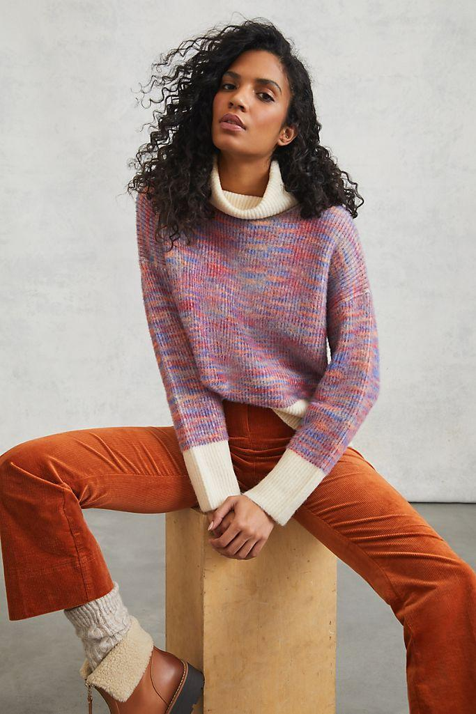 Joni Space-Dyed Sweater- on sale now for Black Friday.