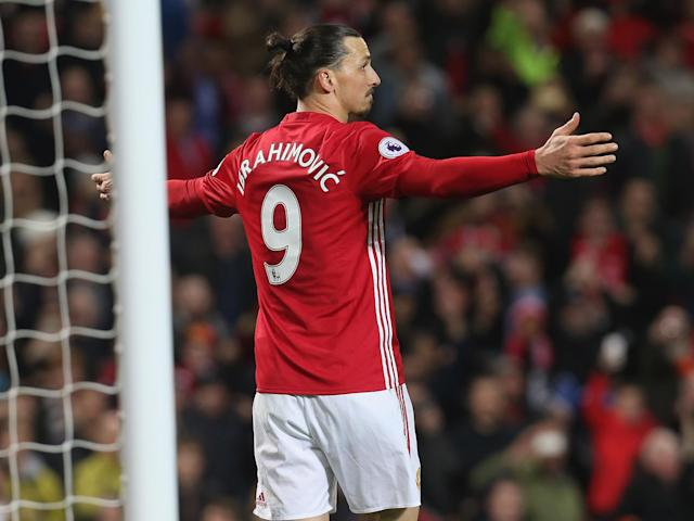 Zlatan Ibrahimovic's late spot-kick rescued a point for Manchester United and broke Everton's stiff rearguard: Getty