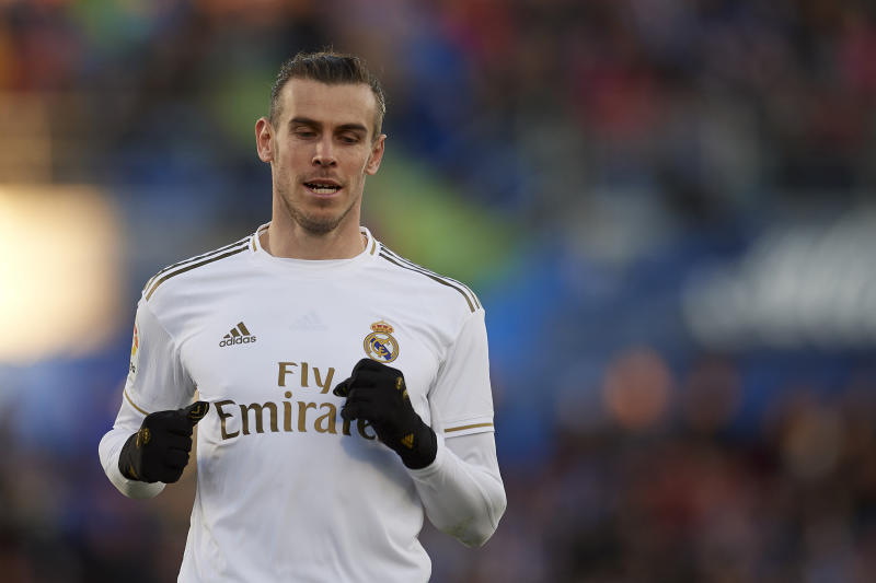 Gareth Bale looks to be staying at Real Madrid at least until this summer. (Jose Breton/Getty)