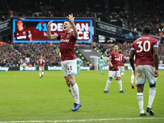 West Ham vs Arsenal player ratings: Declan Rice and Samir Nasri impress in Hammers victory