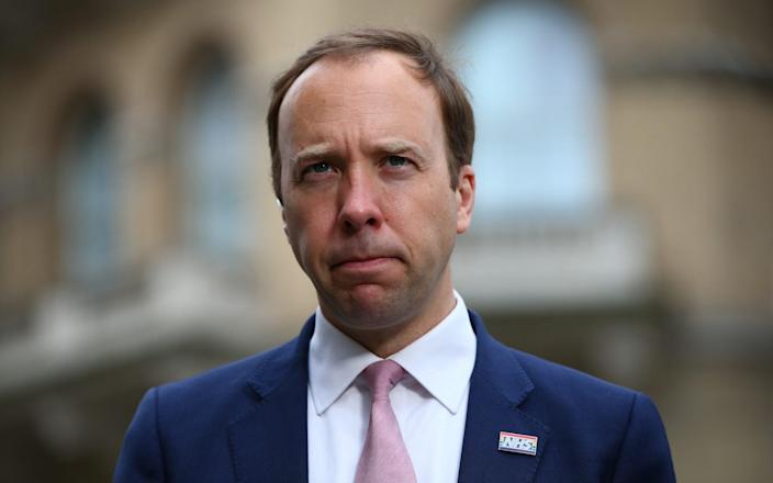 Matt Hancock has defended the UK's border system amid the continued spread of the Indian variant - Hollie Adams/Getty Images