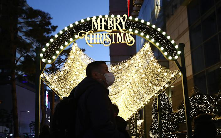 The South Korean Government has expressed concern about some religious establishments preparing for year-end events and gatherings ahead of Christmas and asked that they strictly follow state-mandated disease-control measures - Chung Sung-Jun/Getty Images