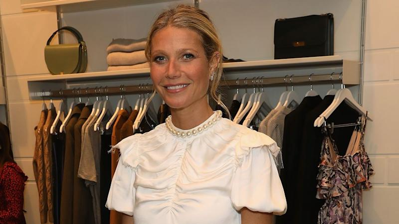 Gwyneth Paltrow has shared the first photos of her wedding dress