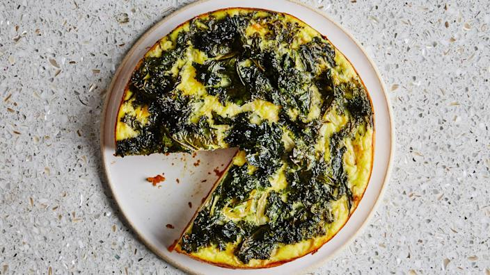 """<a href=""""https://www.bonappetit.com/recipe/simple-quiche-with-a-sweet-potato-crust?mbid=synd_yahoo_rss"""" rel=""""nofollow noopener"""" target=""""_blank"""" data-ylk=""""slk:See recipe."""" class=""""link rapid-noclick-resp"""">See recipe.</a>"""