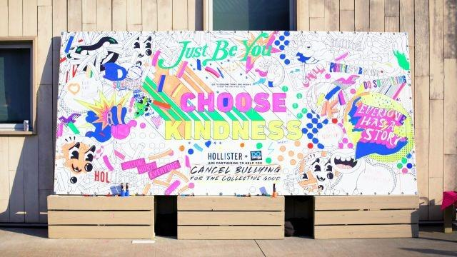 Hollister launches anti-bullying campaign for back-to-school season