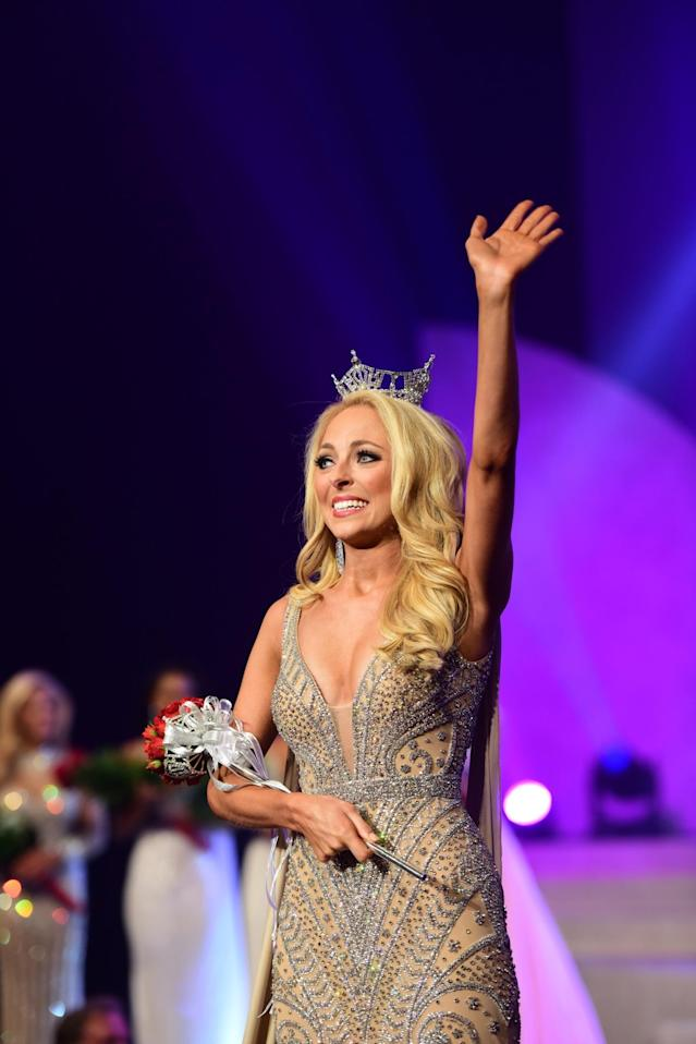 Caty Davis, Miss Tennessee, will compete in the Miss America competition on Sunday, with a platform inspired by her late father. (Photo: Courtesy of Miss America)