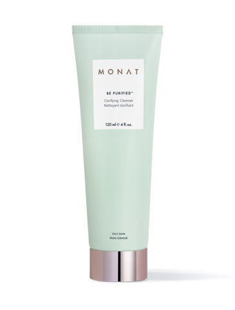 """<p><strong>BE PURIFIED™</strong></p><p>monatglobal.com</p><p><strong>$45.00</strong></p><p><a href=""""https://monatglobal.com/skin-clarifying-cleanser/"""" rel=""""nofollow noopener"""" target=""""_blank"""" data-ylk=""""slk:Shop Now"""" class=""""link rapid-noclick-resp"""">Shop Now</a></p><p>This purifier is tough but gentle. """"It's a lightweight gel cleanser with glycolic and lactic acids to gently reduce excess oil and help unclog pores,"""" says Amy Ross, M.D., founder of <a href=""""https://phdermatology.com/about/dermatology-team/amy-ross-md/"""" rel=""""nofollow noopener"""" target=""""_blank"""" data-ylk=""""slk:PHDermatology"""" class=""""link rapid-noclick-resp"""">PHDermatology</a>, with several locations in Florida. Also in there: botanical extracts of rosemary, green tea, and aloe vera for an extra boost of skin-loving goodness.</p>"""
