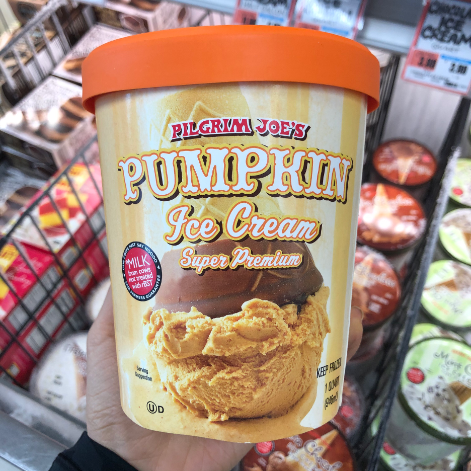 <p>Creamy, delectable, and sweet, enjoy this creamy dessert by itself or scooped on pumpkin pie for a seriously seasonal treat.<strong> Plus, it's made with nearly 30% pumpkin puree.</strong></p>