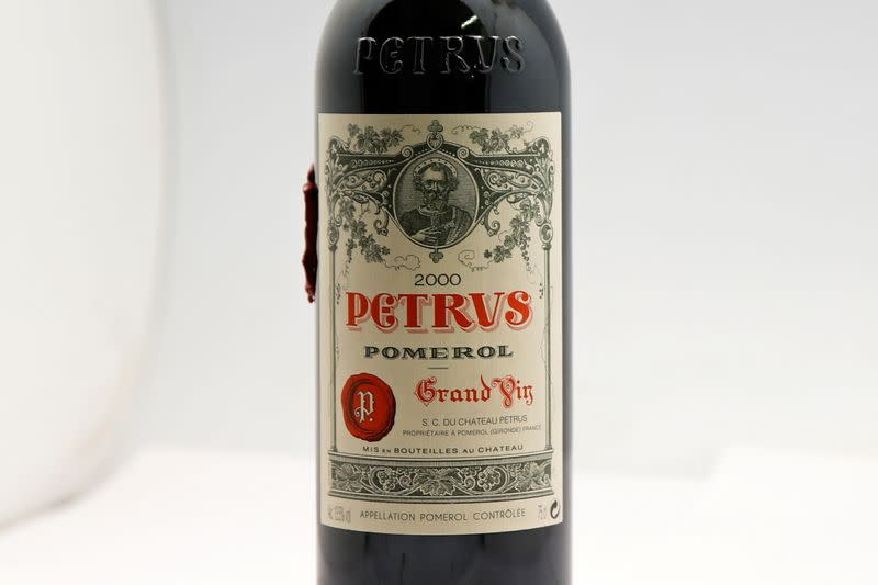 Space-aged Bordeaux wine offered for private sale by Christie's