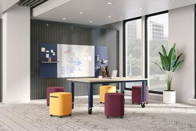 Workwall with Preside Table