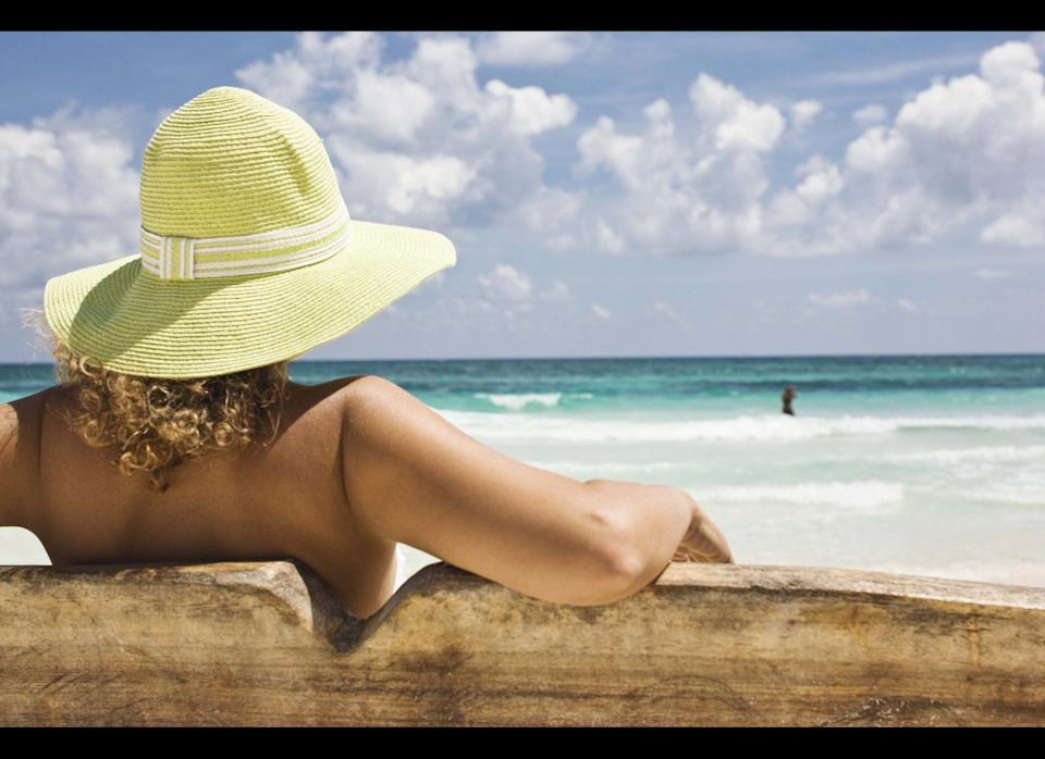 """Fact: Summer's heat and humidity can do a number on your skin. To give your complexion a break this season, try lightening up your skincare routine by switching to a gel or liquid sunscreen.     Why? """"These products soak in faster and are less likely to leave you looking and feeling greasy,"""" explains Jessica Wu, M.D., a Los Angeles dermatologist and author of the book, """"<a href=""""http://www.amazon.com/Feed-Your-Face-Beautiful-Delicious/dp/0312630778"""" target=""""_hplink"""">Feed Your Face</a>.""""     Acne prone? Go oil-free to avoid clogging your more sensitive pores. Dr. Wu recommends <a href=""""http://www.amazon.com/Kiehls-Super-Fluid-Defense-SPF/dp/B003QBJTF2"""" target=""""_hplink"""">Kiehls Super Fluid UV Defense</a>, <a href=""""http://www.amazon.com/Neutrogena-Ultra-Sheer-Liquid-Sunblock/dp/B003901LEW/ref=sr_1_2?ie=UTF8&s=hpc&qid=1309286847&sr=1-2"""" target=""""_hplink"""">Neutrogena Ultra Sheer Sunscreen Fluid</a> or <a href=""""http://www.amazon.com/Clarins-Plus-Screen-High-Protection/dp/B004LX1YES/ref=sr_1_1?ie=UTF8&s=hpc&qid=1309286895&sr=1-1"""" target=""""_hplink"""">Clarins UV Plus Day Screen SPF 40</a>. """"These dry quickly so your makeup goes on smoothly and evenly,"""" she says.     Have a darker complexion? You aren't immune to sun damage, says Dr. Wu. Sunscreen is still crucial to avoid melasma, sun spots and skin cancer, so don't skimp just because you don't think you will burn!    <strong>More from <a href=""""http://www.ivillage.com/"""" target=""""_hplink"""">iVillage</a>:</strong>    <a href=""""http://www.ivillage.com/sleep-deprived-no-more-cleveland-clinic-sleep-expert-answers-your-top-10-qs-0/4-b-360330?par=aol"""" target=""""_hplink"""">Sleep Deprived No More! Cleveland Clinic Experts Answer Your Top 10 Qs</a>  <a href=""""http://www.ivillage.com/7-foods-lower-cholesterol/4-b-121656?par=aol"""" target=""""_hplink"""">7 Foods That Lower Cholesterol</a>  <a href=""""http://www.ivillage.com/best-ways-beat-depression-without-drugs/4-b-299809?par=aol]"""" target=""""_hplink"""">Best Ways to Treat Depression Without Drugs</a>"""
