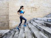 """<p>Vigorously climbing 60 steps in 20 seconds three times a day, three days a week for six weeks boosts cardio fitness by about 5%, <a href=""""https://www.nrcresearchpress.com/doi/full/10.1139/apnm-2018-0675#.XwzGvJNKjq1"""" rel=""""nofollow noopener"""" target=""""_blank"""" data-ylk=""""slk:says a 2019 study"""" class=""""link rapid-noclick-resp"""">says a 2019 study</a>. That might seem modest, but """"even a small increase in cardiorespiratory fitness improves overall health and reduces your chance of developing cardiovascular disease,"""" says study author <a href=""""http://martingibala.com/"""" rel=""""nofollow noopener"""" target=""""_blank"""" data-ylk=""""slk:Martin Gibala, Ph.D."""" class=""""link rapid-noclick-resp"""">Martin Gibala, Ph.D.</a> That's a big win!</p>"""