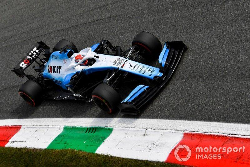 """George Russell, Williams-Mercedes FW42, 2019<span class=""""copyright"""">Mark Sutton / Motorsport Images</span>"""