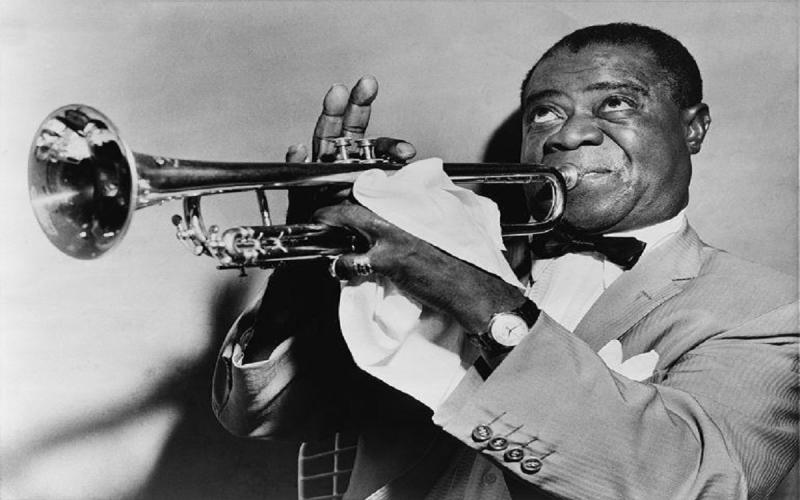 Louis Armstrong morte