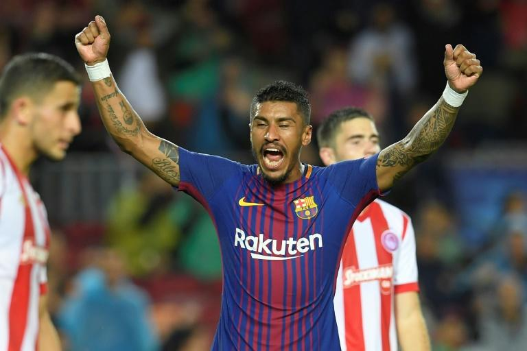 """Bucking the trend: Paulinho left Guangzhou Evergrande for Barcelona -- """"a difficult move for to turn down"""""""