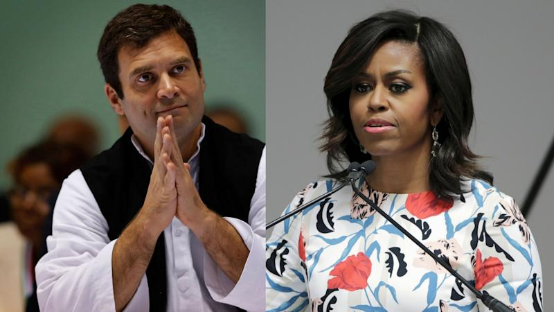 Twitter Reacts to RaGa's Comment on Michelle Obama