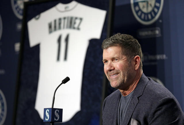 Edgar Martinez moved much closer to Hall of Fame induction during his penultimate year on the ballot. (AP Photo)
