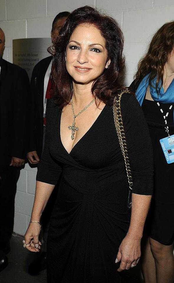 """September 1: Gloria Estefan turns 53 Frank Micelotta/<a href=""""http://www.gettyimages.com/"""" target=""""new"""">GettyImages.com</a> - February 5, 2010"""