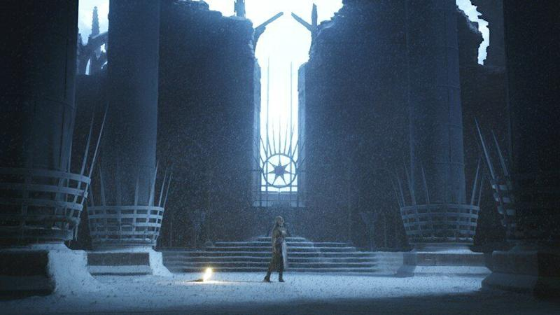 Daenerys had a vision of the Iron Throne in Game of Thrones season 2