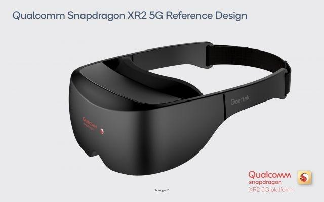 Qualcomm's reference XR headset demonstrates the 5G-connected, 8K-supporting XR2 platform's capabilities