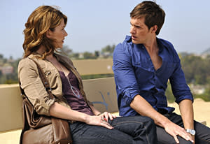 Jewel Staite, Jonathan Patrick Moore | Photo Credits: Darren Michaels/Epitome Pictures Inc/The CW
