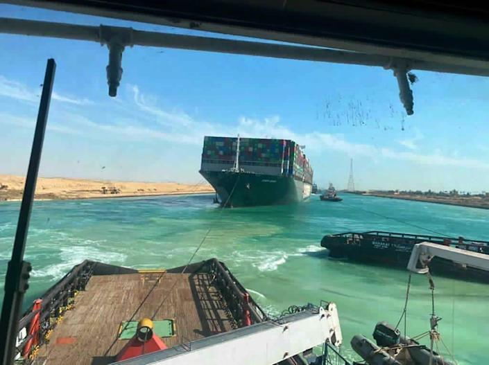 The Ever Given, a Panama-flagged cargo ship, was freed almost a week after becoming wedged in the Suez Canal in Egypt.