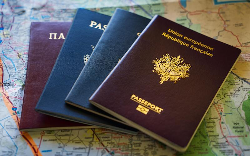 By applying for multiple passports, ultra high-net worth individuals can take advantage of free movement between countries - © Jason Hughes / Alamy Stock Photo