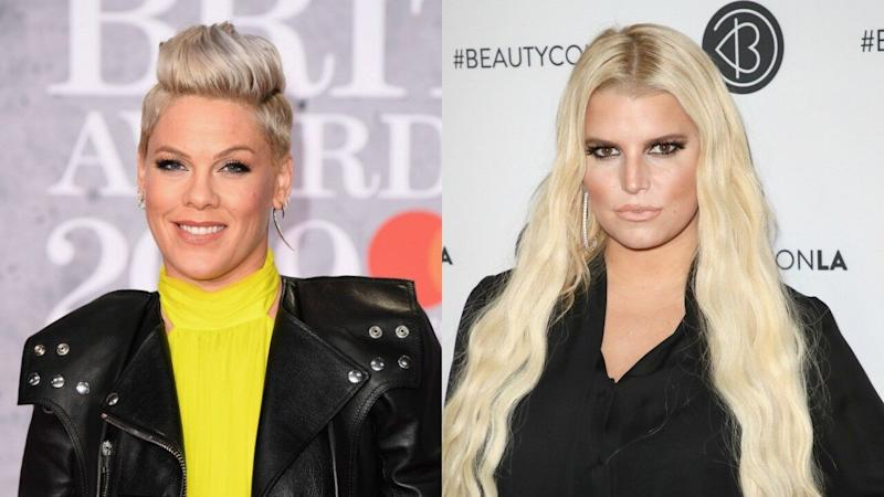 Pink Epically Trolled the Mom Shamers Coming After Jessica Simpson