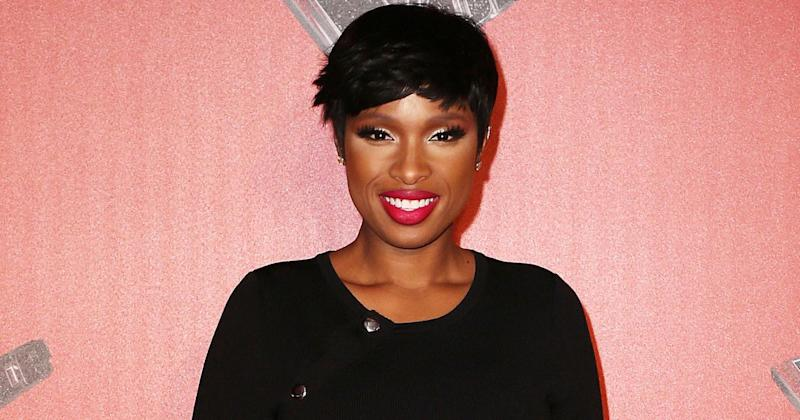 Jennifer Hudson attended The Voice UK press launch in London on Wednesday, 04 Jan (Copyright: James Shaw/REX/Shutterstock)